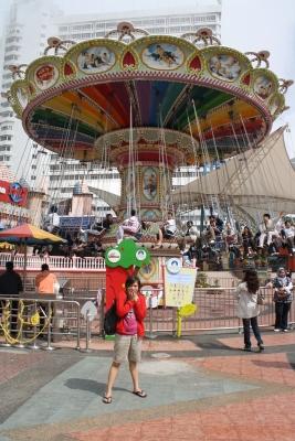 Spinner, nagpapanggap na katulad ng Flying Fiesta.