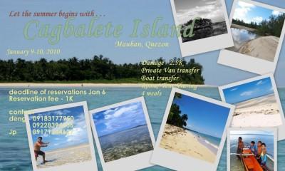 Cagbalete Island, Mauban, Quezon