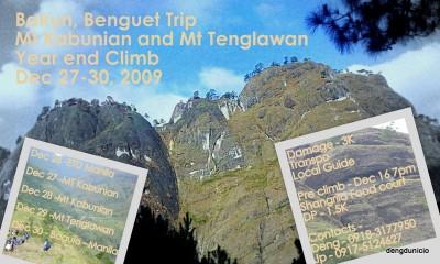Mt. Kabunian at Mt. Tenglawan
